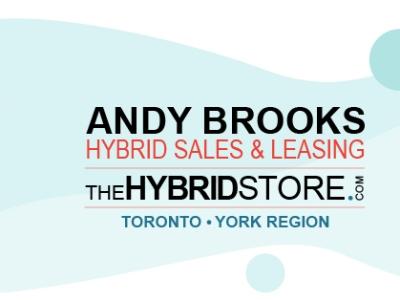 Andy Brooks Hybrid Vehicle Sales Toronto York Region Top Brands