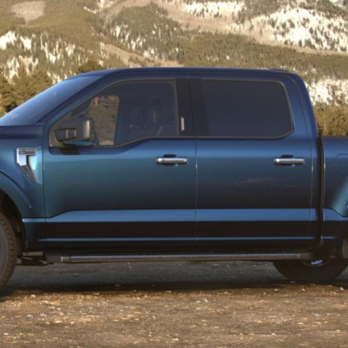 2021 Ford F-150 hybrid colours Antimatter Blue Ford Hybrid dealership Toronto York Region