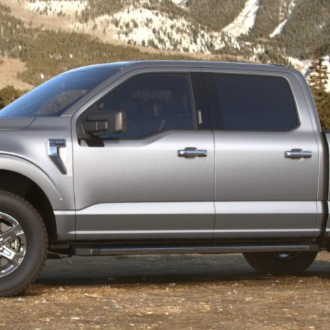 2021 Ford F-150 hybrid colours Iconic Silver Ford Hybrid dealership Toronto York Region