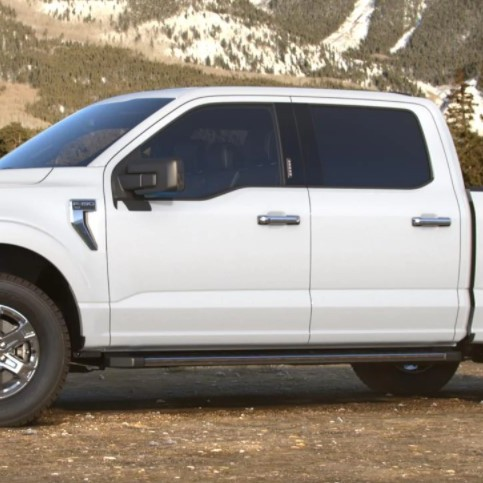 2021 Ford F-150 hybrid colours Oxford White Ford Hybrid dealership Toronto York Region