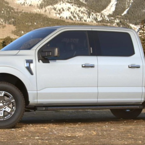 2021 Ford F-150 hybrid colours Space White Ford Hybrid dealership Toronto York Region