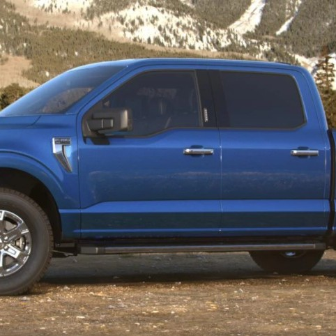 2021 Ford F-150 hybrid colours Velocity Blue Ford Hybrid dealership Toronto York Region