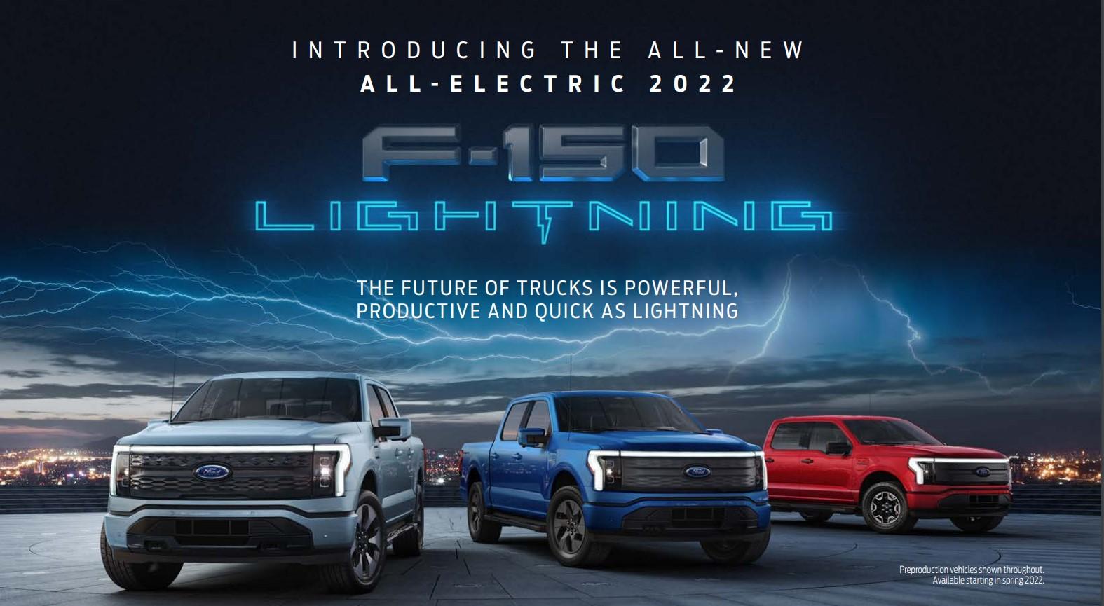 2022 Ford F-150 Lightning savings over gas model York Region- Toronto EV car Dealer